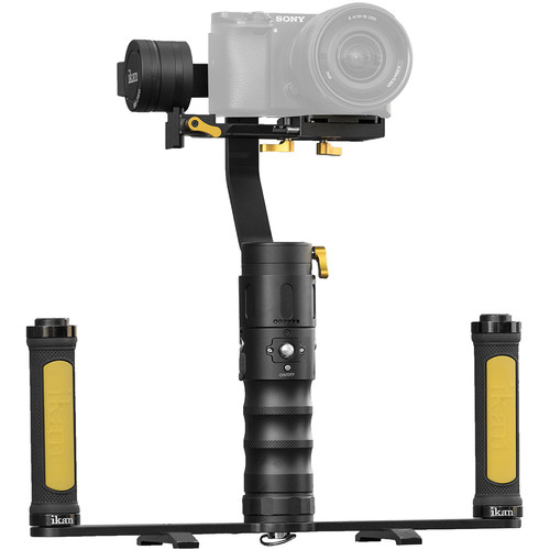 ikan Beholder MS-Pro 3-Axis Gimbal & Dual Grip Handle Kit or Mirrorless Cameras