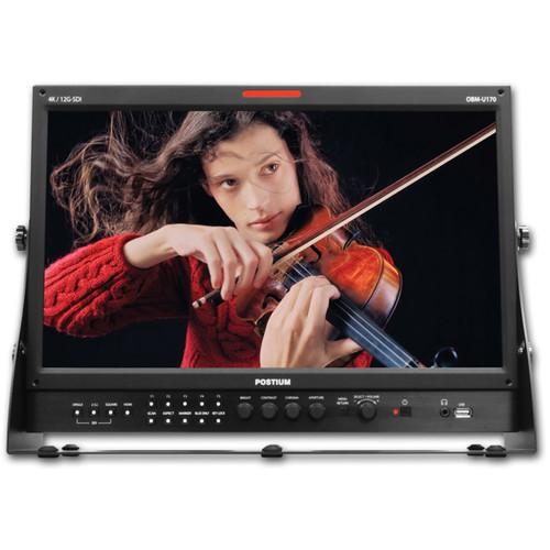"Postium Korea OBM-U170 17.3"" Full HD 12G-SDI LCD Monitor with DCI 4K Support"
