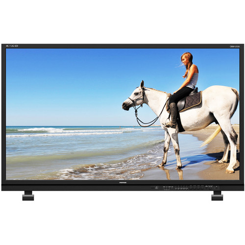 "ikan OBM-U550L 55"" Native UHD 4K HDR LCD Monitor with 12G-SDI Single Link & Quad Link 4K"