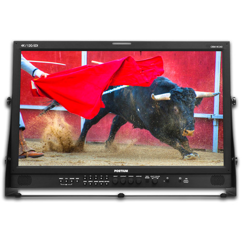 "ikan 24"" Native 4K HDR LCD Wall Monitor with 12G-SDI Single Link & Quad Link 4K"