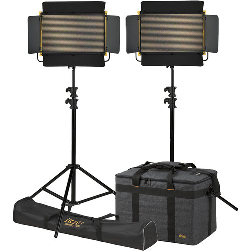 ikan Onyx 2x1 Bi-Color LED 2-Point Light Kit