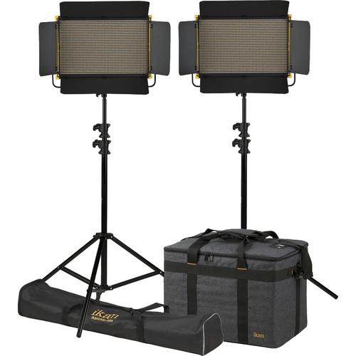 ikan Onyx 2 x 1 Bi-Color LED 2-Point Light Kit