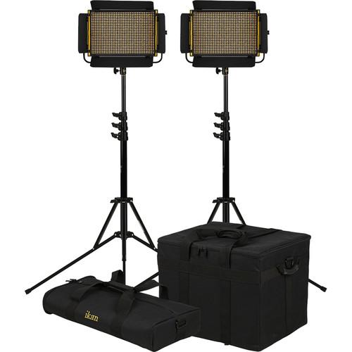 ikan Onyx Half x 1 Bi-Color LED 2-Point LED Light Kit