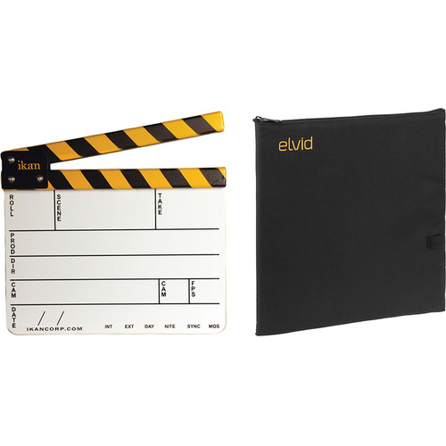 """ikan 9 x 11"""" Dry Erase Production Slate with Soft Case Kit"""
