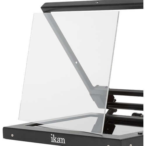 """ikan Replacement Glass for PT1200, PT-ELITE-V2 & PT-ELITE-PRO Teleprompters (11.75 x 8.75"""")"""