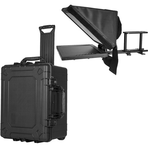 "ikan 15"" High-Bright Teleprompter & Hard Case Kit"