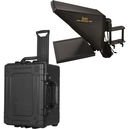 "ikan 17"" High-Bright Teleprompter & Hard Case Travel Kit"