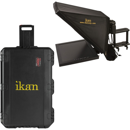 ikan PT3700 Teleprompter & Hard Case Travel Kit