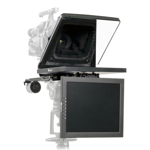 """ikan Professional High-Bright Teleprompter with Talent Monitor Kit (15"""")"""