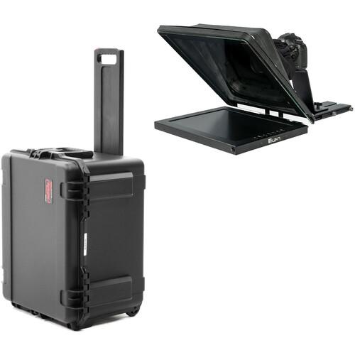"ikan PT4500-SDI Professional 15"" High-Bright Teleprompter Travel Kit"
