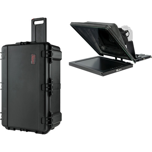 """ikan Professional 15"""" High-Bright Teleprompter Travel Kit"""