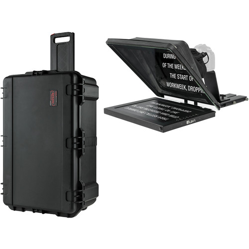 "ikan PT4700-SDI Professional 17"" High-Bright Teleprompter Travel Kit"