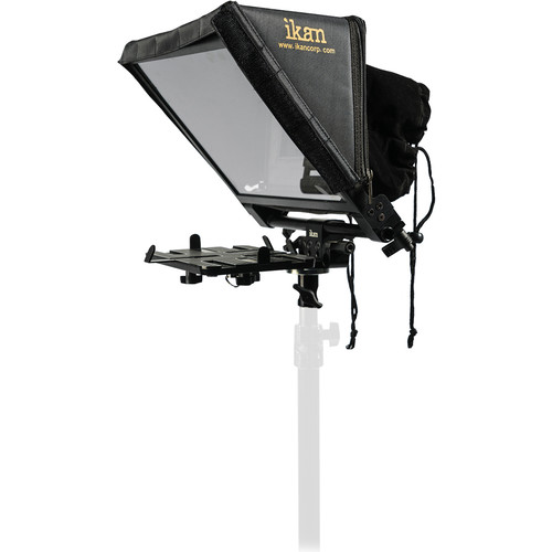 ikan Elite Tablet & iPad Light Stand Teleprompter with Elite Remote