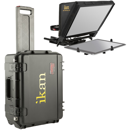 ikan PT-ELITE-Pro Teleprompter Travel Kit with Rolling Hard Case