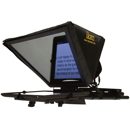 ikan Elite Universal Tablet Teleprompter Kit