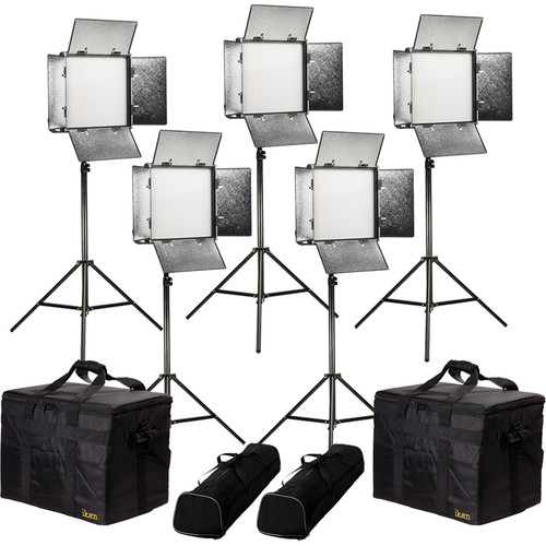 ikan Rayden Bi-Color 5-Point LED Light Kit with 5x RB10