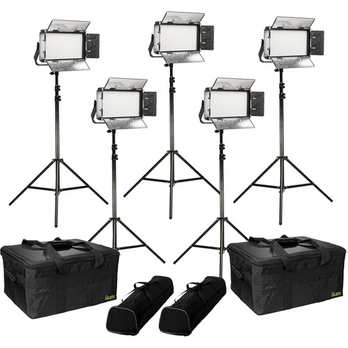 ikan Rayden Bi-Color 5-Point LED Light Kit with 5x RB5