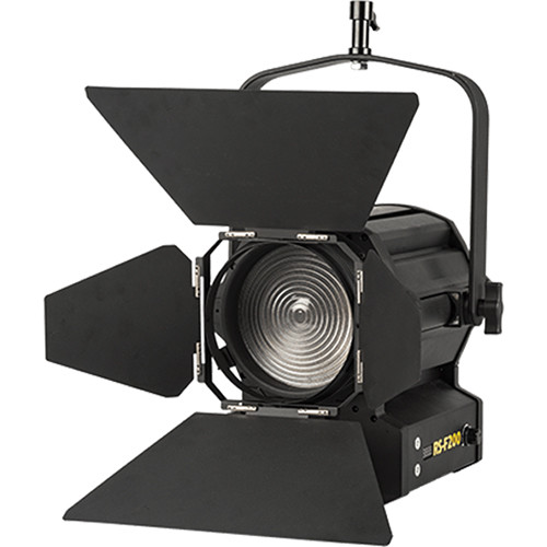 "ikan Red Star RS-F200 6"" Tungsten Fresnel 200W LED Light (Black)"