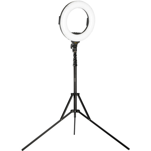 """ikan Oryon Bi-Color LED Ring Light with Stand and Accessories Kit (14"""")"""