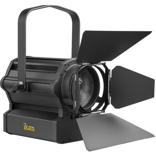 "ikan Red Star RS-F350 6"" Tungsten Fresnel 350W LED Light (Black)"