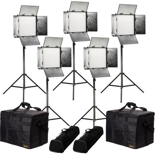 ikan Rayden Daylight 5-Point LED Light Kit with 5 x RW10