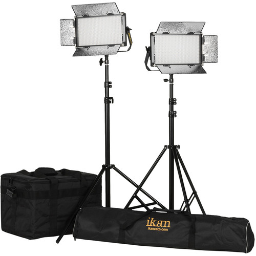 ikan Rayden Half x1 Daylight 5600 2-Point LED Light Kit