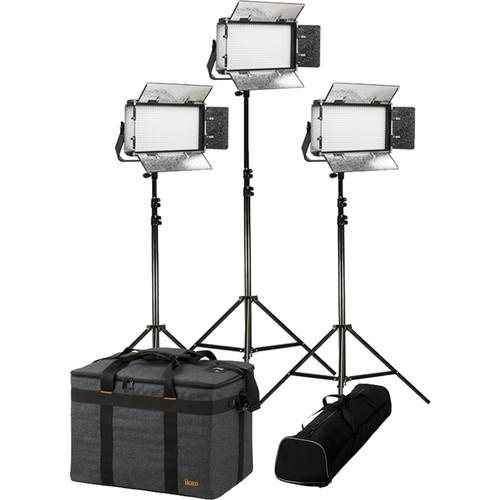 ikan Rayden Half x1 Daylight 5600 3-Point LED Light Kit