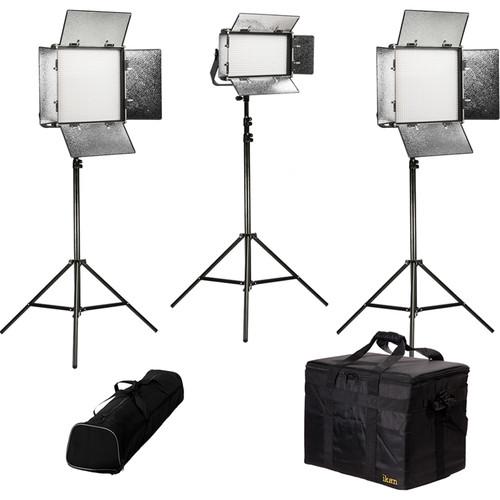 ikan Rayden Daylight 3-Point LED Light Kit with 2 x RW10 and 1 x RW5