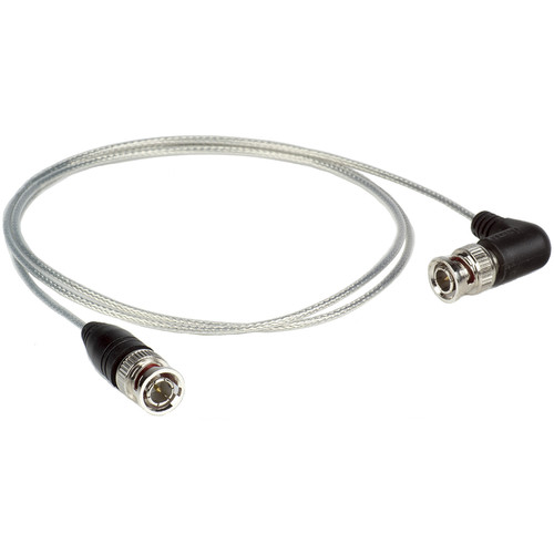 ikan Ultra Slim SDI Cable with BNC to Right-Angle BNC Connector (1.5')