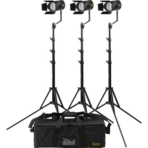ikan SW50 Stryder 3-Point LED Light Kit