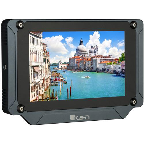 "ikan Saga SX7 7"" High-Brightness 3G-SDI/HDMI Field Monitor with 3D-LUTs & Scopes"
