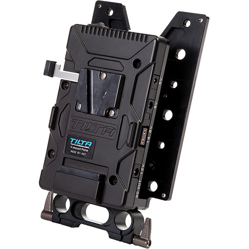 Tilta TT-C12 HyperDeck Shuttle Holder with V-Mount Plate