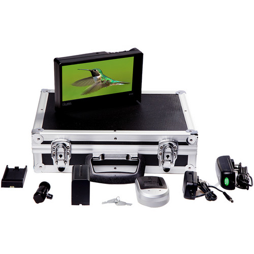 ikan VH8 Field Monitor Deluxe Kit with Sony L Type Battery