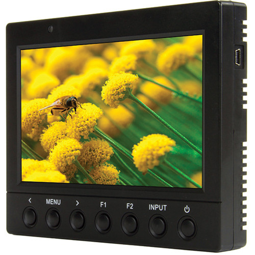 "ikan VK5 5.6"" HDMI LCD Monitor with Canon 900 Series Battery Plate"