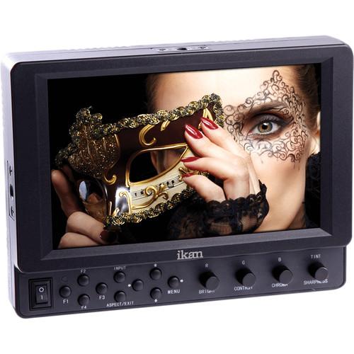 """ikan VK7i-1 7"""" HDMI Monitor (Canon 900, Sony L, Panasonic D54)"""