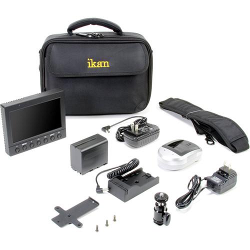 """ikan 5"""" HDMI Field Monitor Deluxe Kit (Canon LP-E6)"""