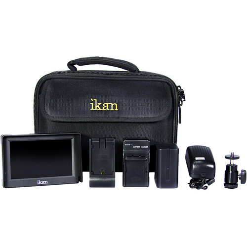 "ikan 5"" HDMI Field Monitor Deluxe Kit (Sony L)"
