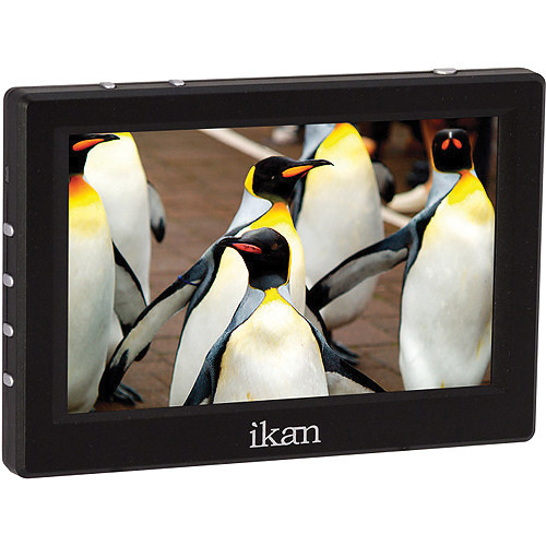 "ikan VL5 5"" HDMI Field Monitor Kit with LP-E6 Type Battery Plate"