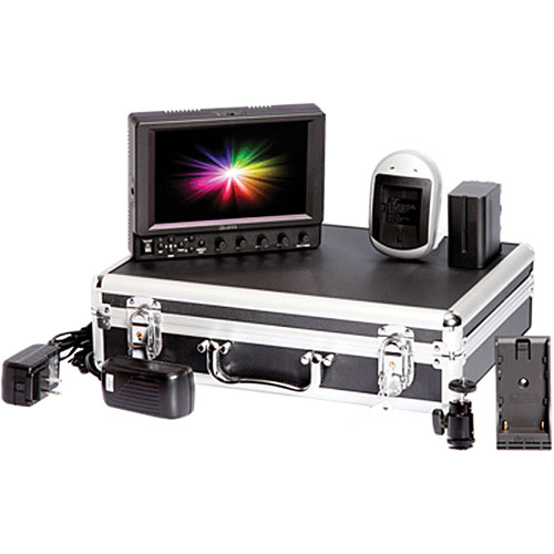 ikan VX7i Field Monitor Deluxe Kit with Panasonic D54 Battery Plate