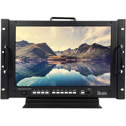 "ikan VXF17 17"" FHD 3G-SDI/HDMI/DVI/Component Desktop & Rackmount Monitor"