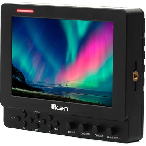 """ikan VXF7 7"""" HDMI/SDI On-Camera Monitor V2 with Tally"""