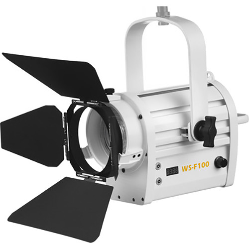 "ikan Architectural White Star WS-F100A 4"" Daylight Fresnel 100W LED Light (White)"
