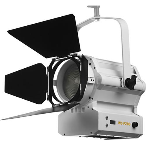 "ikan Architectural White Star WS-F200 6"" Fresnel 200W LED Light (White)"