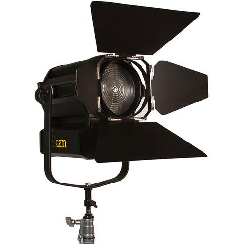 """ikan White Star WS-F350 6"""" Fresnel 350W LED Light (Black)"""