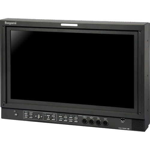 Ikegami HLM-1705WR 17-Inch HDTV/SDTV Multi-Format LCD Monitor with 2 x SD/HD/3G-SDI & 1 x Composite Input