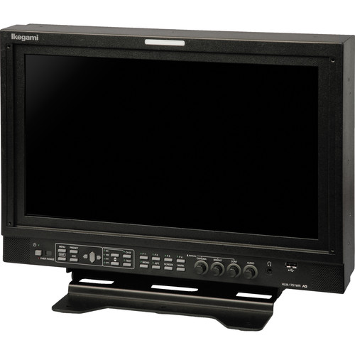 Ikegami HLM-1751WR 17-Inch HDTV/SDTV Multi-Format LCD Monitor with 2 x SD/HD/3G-SDI & Composite Inputs and 1 x DVI