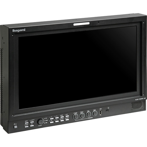 Ikegami 17-Inch HDTV/SDTV Multi-Format Lcd Monitor, Full HD Widescreen 1920X1080 Resolution Lcd Panel With A