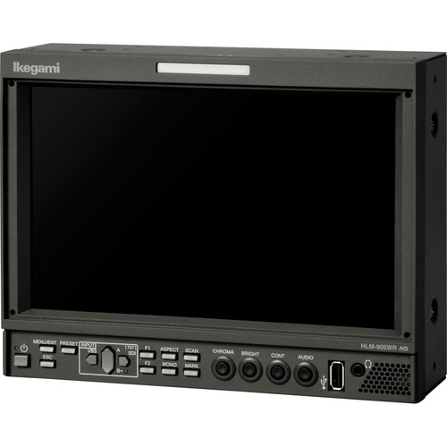 "Ikegami HLM-905WRRM2 9"" HDTV/SDTV Multi-Format LCD Color Monitors (Pair)"