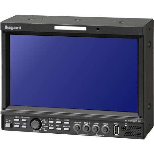 """Ikegami HDTV/SDTV Multi-Format LCD Monitor (9"""")"""