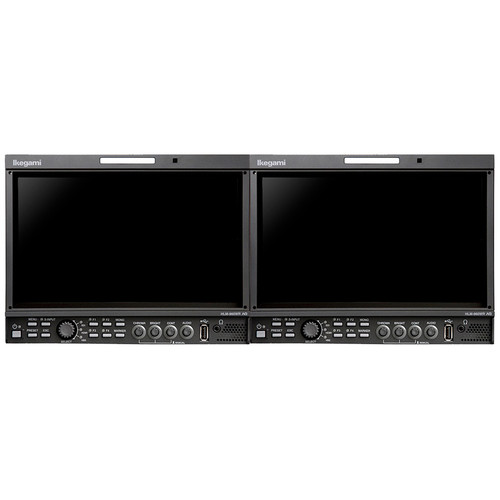 Ikegami Two 9-Inch HDTV/SDTV Mulc-Format Lcd Monitor, Full Hd Widescreen 1920X1080 Resolucon, Ac/Dc Input. I